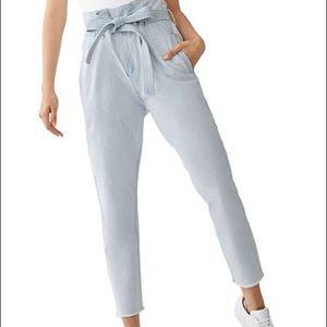 DL1961 SUSIE PAPER BAG PANTS